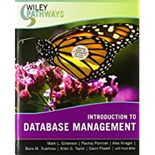 Wiley Pathways Introduction to Database Management by Mark L. Gillenson (2007-03-16)