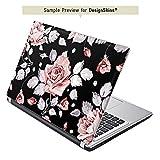 Lenovo Yoga 900 Aufkleber Schutz Folie Design Sticker Skin Rosen Blumen Muster