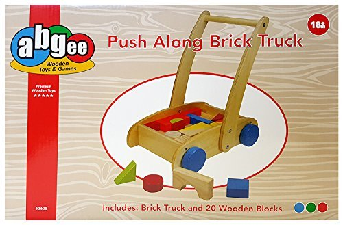 Kids Quality Wooden Push Along B...