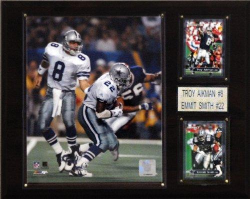 C & I Collectables NFL Aikman-Smith Dallas Cowboys Spieler Plaque