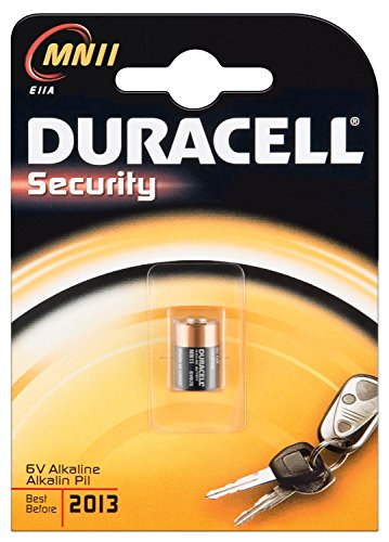 Preisvergleich Produktbild Duracell Alkali Batterie (MN11, 6V) (3 Stück)