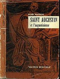 Saint Augustin et l'augustinisme. par Henri-Irénée Marrou