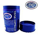 Large Blue Time Capsule Airtight Waterproof Storage Jar Aerospace technologies inc SMO-KING Slap by Time Capsule