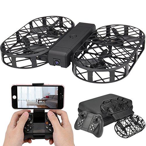 D7 Wifi FPV Drohne mit 720P Kamera Weitwinkel-HD-Kamera Live-Video , Faltbare RC Drohne mit APP-Steuerung Hover auto Schwebe G-Sensor für alle Stufen-Piloten Android Rc Auto Mit Kamera