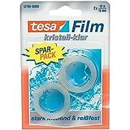 Tesa 57766-00000-00 Spar-Set 10x: Tesafilm kristall-klar 2x 10:15 Blister FARBLOS Länge/m: 10,00 Breite/mm: 15,0