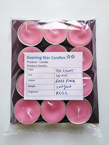Rose Fragrance Tealight Candles
