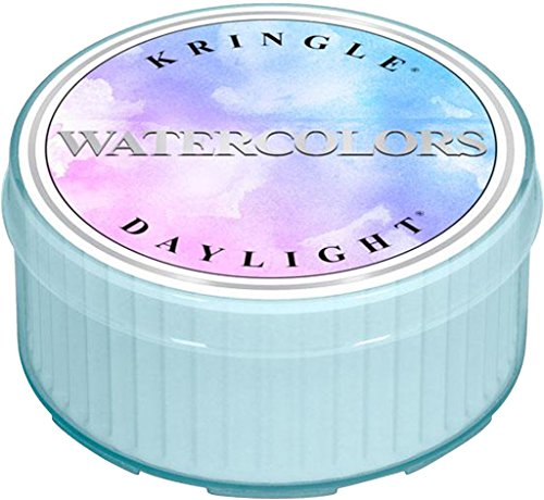 Kringle® Duftkerze – Watercolors – Raumduft, Duft, Kerze im Glas, Stumpenkerze, Housewarmer, Aroma, Aromakerze