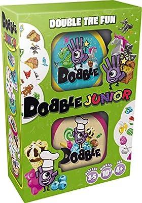 Asmodee ASMDOBBJU01EN Dobble Junior Jeu de Cartes