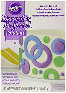 Wilton Decorator Preferred Fondant White 680 g