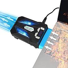 ELUTENG Vakuum Laptop Kühler USB Laptop Fan Cooling mit LED Bildschirm Intelligent Vaccum Fan Geräuschlos Notebook Ventilador für 14 zu 17 Zoll Laptop / Notebook