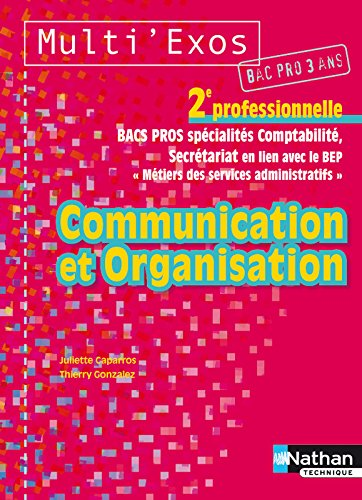 COMMUNICATION ORGA 2E PRO ELEV