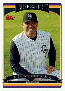 2006 Topps Baseball Card # 274 Clint Hurdle Colorado Rockies