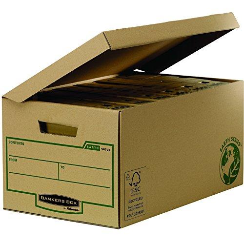 Fellowes 4472201Caisse D Archivierung Flip Top Maxi Banker Box Earth Series–Montage Handbuch (10Stück) - 2