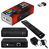 MAG 254 IPTV SET TOP BOX Multimedia Player Internet TV IP Receiver + HB Digital Wlan Stick