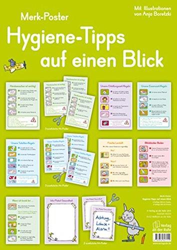 Hygiene-Tipps auf einen Blick (Merk-Poster)