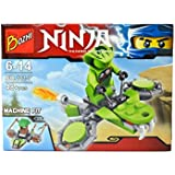 Powerpak Ninja Thunder Swordsman,Toy Building Figures 3D Puzzle For Ages 6+ (48+ Pieces) (101-7)