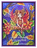 Magic Of Flowers Coloring Book: Mystical Flowers, Sprites, Fairies and More