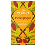 Pukka Organic Three Ginger Tea Ginger Ga...