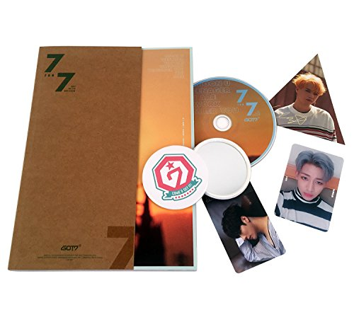 GOT7 - 7 for 7 [Golden Hour Ver.] CD + Photobook + Photocard + Lyrics Book + Free Gift K-Pop Sealed