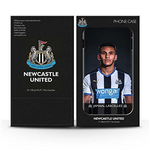 Offiziell Newcastle United FC Hülle / Matte Harten Stoßfest Case für Apple iPhone SE / Pack 25pcs Muster / NUFC Fussballspieler 15/16 Kollektion Lascelles