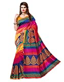 #10: Indian Beauty Women's Mysore silk Cotton With Blouse Saree