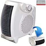 2000W PORTABLE SILENT ELECTRIC FAN HEATER HOT & COOL UPRIGHT BRAND NEW IN BOX