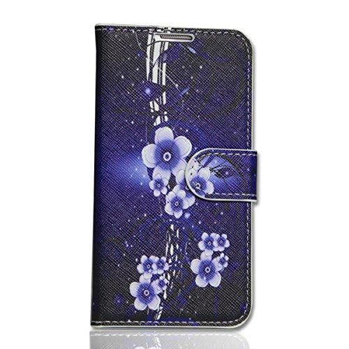 Handy Tasche - Book Style - Design DBNF - Cover Hülle Case Etui für Huawei Ascend Y300