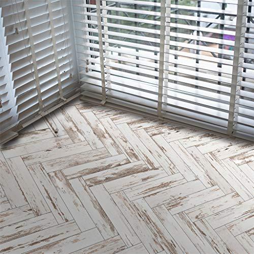 Pingtr - Boden Wandaufkleber Aufkleber PVC Selbstklebende Kunst DIY Holz Kunst Vinyl Home Decor