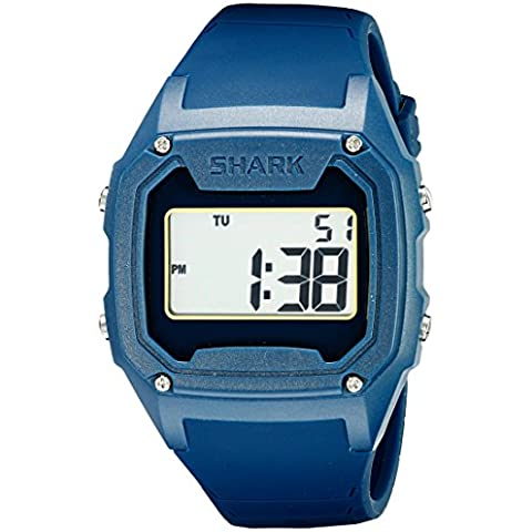 Freestyle Uomo 10026585 squalo classica XL Display digitale orologio al quarzo giapponese blu