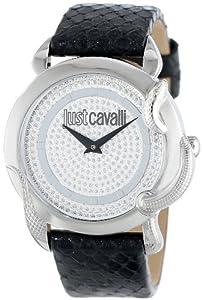 Just Cavalli R7251576502 - Reloj analógico de cuarzo para mujer con correa de piel, color negro de Just Cavalli