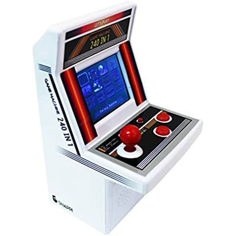 Snappi Mini Arcade Game Machine Toy Video juego Portable Gaming System [240 Video Games] - series VII