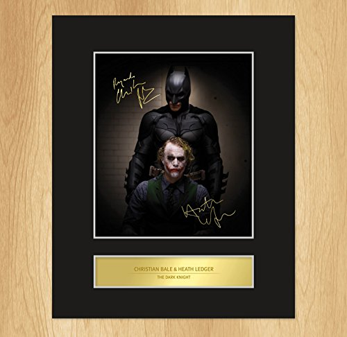 the-dark-knight-signed-mounted-photo-display-christian-bale-heath-ledger