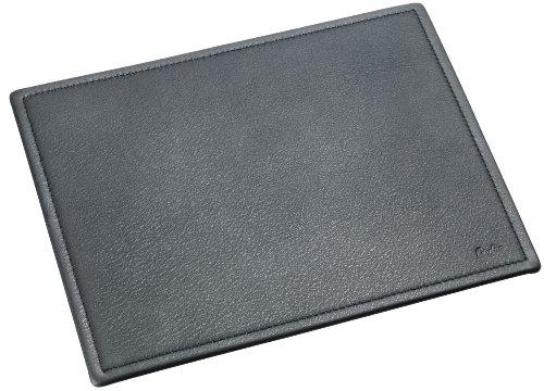Läufer 37436 - Ambiente SCALA Mouse-Pad, 21 x 26 cm, aus echtem Leder, schwarz