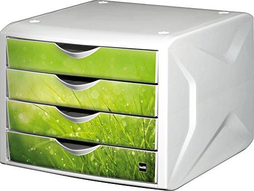 Helit H6129650 - Schubladenbox the chameleon, springtime