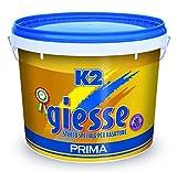 Stucco in pasta 'k2-gs' para rasature. Especial para paredes interiores y placas de yeso. Ambientador Lavanda.