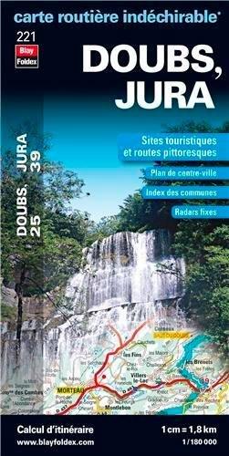 doubs-25-jura-39-carte-dpartementale-routire-et-touristique-chelle-1-180-000