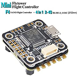 LITEBEE F4 Flight Controller 6DOF + OSD + BEC 5V/3A Support D-Shot ESC, Controladora De Vuelo (F4 FC + ESC) by