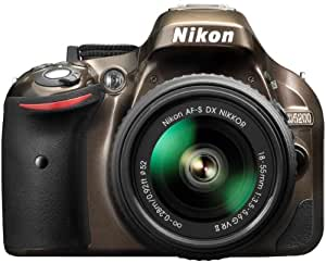 Nikon D5200 Digital SLR with 18-55mm VR II Compact Lens Kit - Bronze (24.1 MP) 3.0 inch LCD