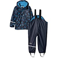 CareTec Kids Rain-Clothing Set, Blau (Dark Navy 778), 116