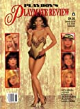 Playboy magazine playmate review 1990 [Paperback] by Hugh Hefner