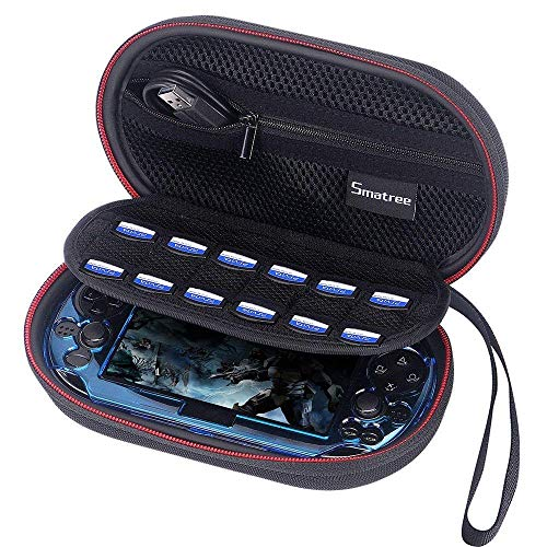 Smatree Tragetasche für PS Vita 1000, PSVita 2000 (8x 4.7x 2,7 Zoll)(Konsole, Zubehör und ohne Abdeckung)