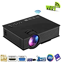 UNIC UC46 Wifi HD Mini Portable LED Home Cinema Projector [dpl]