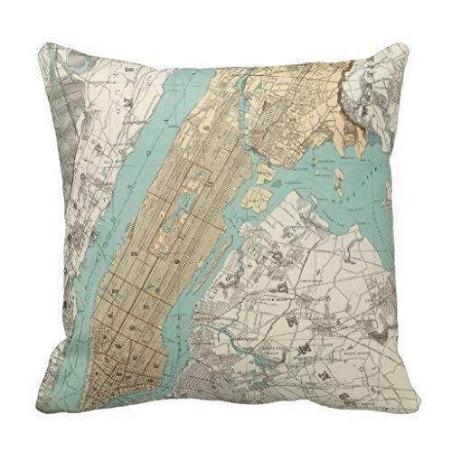 (NY City Brooklyn Throw Rf6db915a5c8c4805b80a65718bc63abe I52ni 8byvr Pillow Case 18