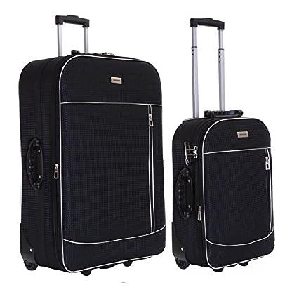 Slimbridge-Leichtgewicht-2er-Koffer-Set-Trolley-Set-Rollkoffer-Reisekoffer-Groe-XL-und-Handgepck-Gepck-Super-Leicht-Erweiterbar-Ausdehnbar-mit-2-Rollen-und-Integriert-Nummernschloss-Rennes