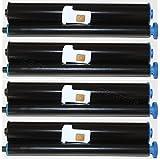 5x Compatible Rollo de fax para Philips Magic 3 PFA331 / Philips Magic 3 / Philips Magic 3 Serie / Philips Magic 3 PPF 531 / Philips Magic 3 PPF 531 r / Philips Magic 3 PPF 571