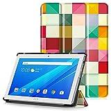 Lenovo Tab 4 10 Plus Cover - Custodia Ultra Sottile e Leggero con Coperture da Supporto e Funzione Auto Sveglia / Sonno per Lenovo Tab 4 10 Plus (TB-X704F) Tablet da 10,1