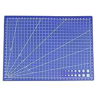 ACAMPTAR A4 Grid Lines Cutting mat Craft Card Fabric Leather Paper Board 30 * 22cm Blue
