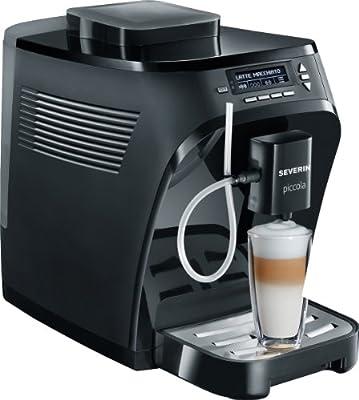 "Kaffeevollautomat ""Piccola Classica"", Farbe: Schwarz matt / glänzend"