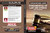 M.K Jain Huf CMA Foundation Law 2016 Book (MC-15)