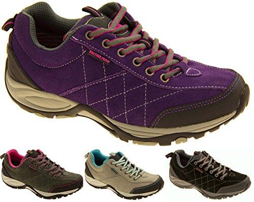 Cuir pour femme NORTHWEST TERRITORY chaussures de randonnée imperméables